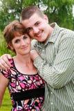 Matka i Syn Zdjęcie Stock