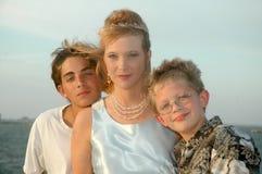matka synowie zdjęcie royalty free