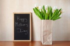 Matka szczęśliwy Dzień! Zdjęcie Royalty Free