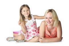 Matka z córką Fotografia Royalty Free