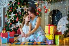 Matka z córką Fotografia Stock