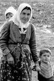 Matka z dziećmi, Turcja Obrazy Stock