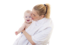 Matka z dzieckiem fotografia royalty free