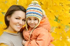 Matka z jej córką Obraz Royalty Free