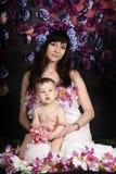Matka z jej córką Fotografia Stock