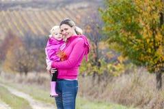 Matka z jej córką Zdjęcie Royalty Free