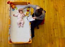 Matka z jej dzieckiem zdjęcie royalty free