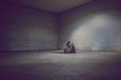 'matka z jej Nieżywym synem', 'bąkaniny mit totem Sohn' Neue Wache pomnik, Berlin Fotografia Stock