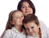 Śliczna rodzina Zdjęcia Royalty Free