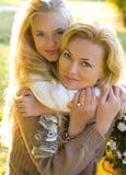 Matki i córki nastolatek Zdjęcie Stock