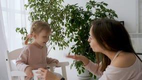 Matki i daugter śpiewackie piosenki wpólnie zbiory wideo