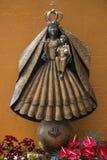Matki i dziecka ikony statua w Xabia Hiszpania Obraz Royalty Free