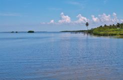 Matlacha. Pass between pine island and cape coral in florida Stock Image