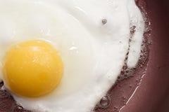 Matlagningägg för frukost Fotografering för Bildbyråer