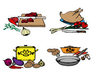 matlagning Arkivfoton