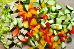 Matlagning från skrapabegrepp Arkivbild