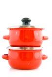 matlagning lägger in red royaltyfri foto