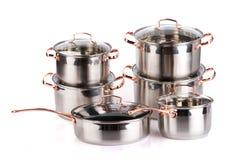 matlagning lägger in rostfritt stål Royaltyfri Fotografi