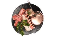 Matlagning Recepies Royaltyfria Bilder