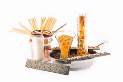 Matlagning Recepies Royaltyfri Bild