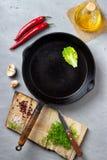 Matlagningbakgrundsbegrepp royaltyfria foton