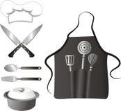 matlagningelement vektor illustrationer
