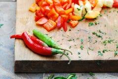 matlagningförberedelse arkivfoto