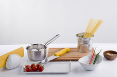 Matlagningförberedelse royaltyfri foto