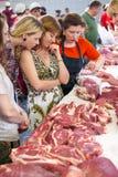 Matlagninggrupp Fotografering för Bildbyråer