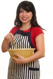 matlagninghemhjälp Arkivfoto