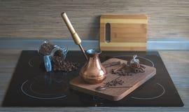 Matlagningkaffe Royaltyfri Foto