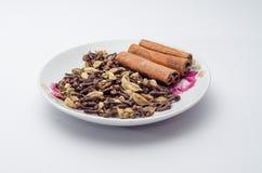 Matlagningkryddan arkivfoton