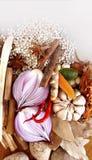 Matlagningkryddor Royaltyfri Bild
