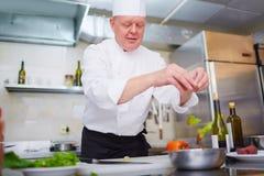 Matlagningsallad royaltyfria bilder