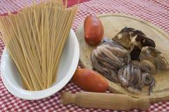 Matlagningsmaktillsats för pasta Arkivbilder
