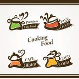 Matlagningsymboler Arkivfoton