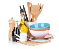 Matlagningutrustning Arkivbild