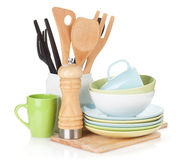 Matlagningutrustning Arkivfoto