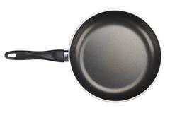 matlagningutrustning som steker isolerad pannawhite Fotografering för Bildbyråer