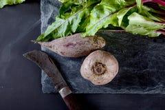 Matlagningvegetarianmål Royaltyfri Fotografi
