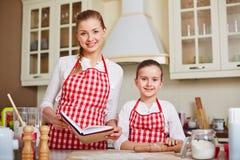 Matlagningvänner Arkivfoto