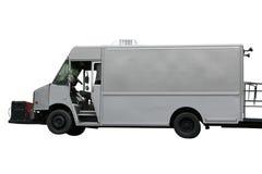 Matlastbilen går-Upp isolerat Arkivbilder