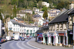Matlock bad, Derbyshire. Royaltyfri Foto