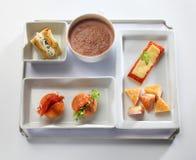 Matmagasinbuffé Fotografering för Bildbyråer