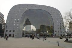 Matmarknad Hall Rotterdam Arkivbilder