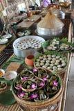 matmarknad thailand Royaltyfri Bild