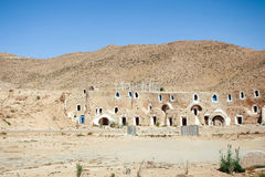 Matmata museum in Tunisia. MATMATA, TUNISIA - SEPTEMBER 17, 2012 : The Matmata museum in berber village in south Tunisia. Matmata is famous for its troglodyte Stock Photography