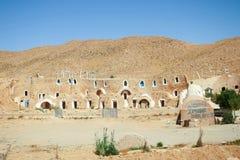 Matmata museum. MATMATA, TUNISIA - SEPTEMBER 17, 2012 : The Matmata museum in berber village in south Tunisia. Matmata is famous for its troglodyte cave Royalty Free Stock Photo
