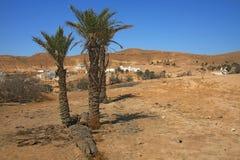 Matmata - Tunisia. Matmata sandy desert in Tunisia Stock Photography