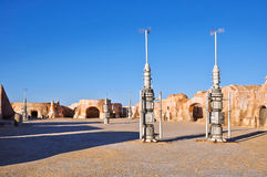 Matmata town in Tunisia Stock Image